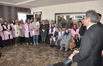 Hüseyin Avni Sipahi'den Emekçi Kadınlara Ziyaret
