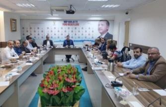 AK Parti Ümraniye İlçe Teşkilatı Basın İle Buluştu