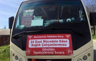 Minibüs şoföründen örnek davranış!