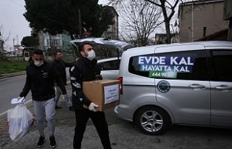 Ümraniye Belediyesi'nin Korona Virüsüne Karşı Topyekün Mücadelesi Sürüyor