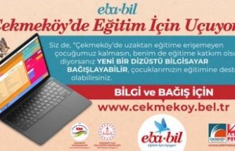 Çekmeköy Belediyesi EBA-BİL Projesi İle Eğitime Olan Desteğini Sürdürüyor