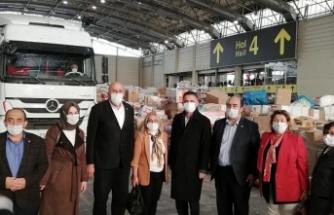 İstanbul Muhtarlar Federasyonu Öncülüğünde İzmir'e Yardım Tırı