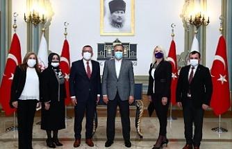 Türkiye Değişim Partisi İstanbul İl Başkanlığından İstanbul Valisi Yerlikaya'ya Ziyaret
