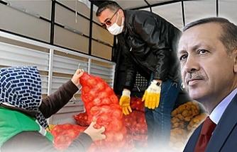 Erdoğan talimatı verdi: Ücretsiz dağıtılacak