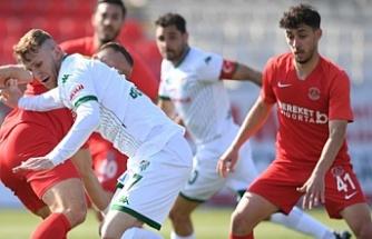 Ümraniyespor, Bursaspor'u yendi