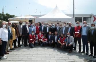 Üsküdar Rizeliler Derneği'nin kan bağışı kampanyasına yoğun