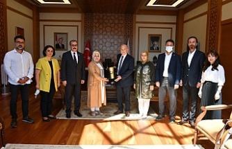 İstanbul 2 Nolu Baro Başkanı Şamlı'dan Şeyma Döğücü'ye Ziyaret