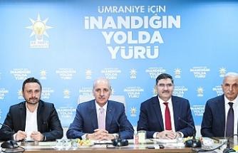 AK Parti Genel Başkanvekili Numan Kurtulmuş, Ümraniye İlçe Yönetim Kurulu Toplantısına Katıldı