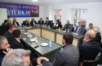 Türkav Ümraniye  Şubesi'nin Açılışına Ümraniyeliler  Yoğun İlgi Gösterdi