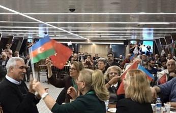 Azerbaycan Bağımsızlık Günü ve 100. Yılı İstanbul Boğazında Kutlandı