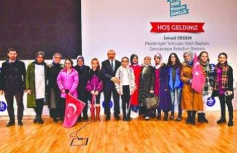 Sancaktepe Belediye Başkan adayı Şeyma Döğücü gençlerle buluştu