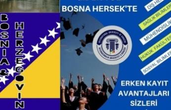 Sınavsız Hayallerinize Giden Yol Bosna Hersek'te