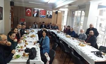 CHP Ümraniye Belediye Başkan Adayı Cafer Aktürk Yerel Basın Temsilcileriyle Buluştu