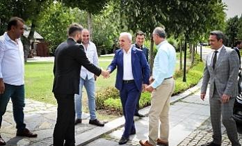 Ümraniye Belediye Başkanı İsmet Yıldırım Ümraniye'deki Spor Kulüp Yöneticileriyle Bir Araya Geldi
