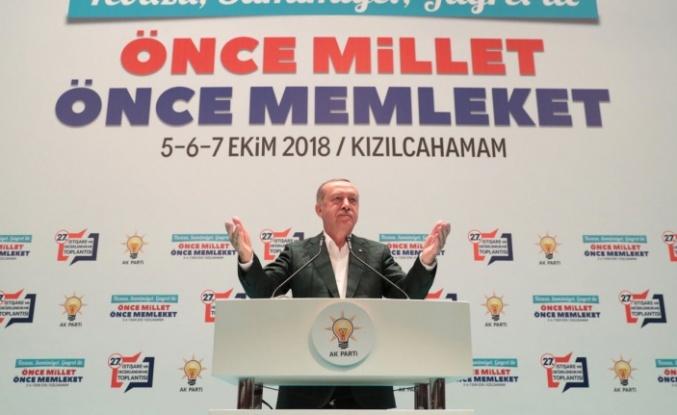 Cumhurbaşkanı Erdoğan 27. İstişare ve Değerlendirme Toplantısı'nda konuştu