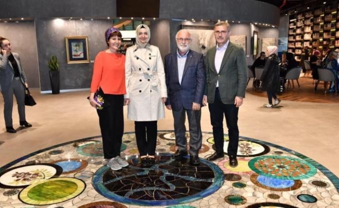 AK Parti Genel Başkan Yardımcısı Fatma Betül Sayan Kaya Üsküdar Belediyesi'nin Nevmekan Sahili Ziyaret Etti