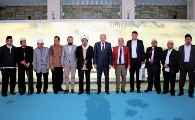 İBB, Endonezya Sufi Ulema Meclisi'ni ağırladı