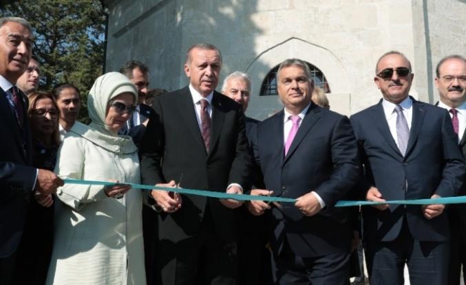 Türk-Macar dostluğunun simgesi Gül Baba Türbesi açıldı