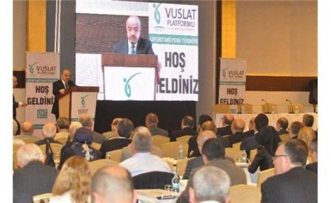 """Uluslararası Vuslat Platformu'ndan Bolu'da """"Yeni Dünya Düzeni Ve Geleceğin Haritası"""" Konferansları"""