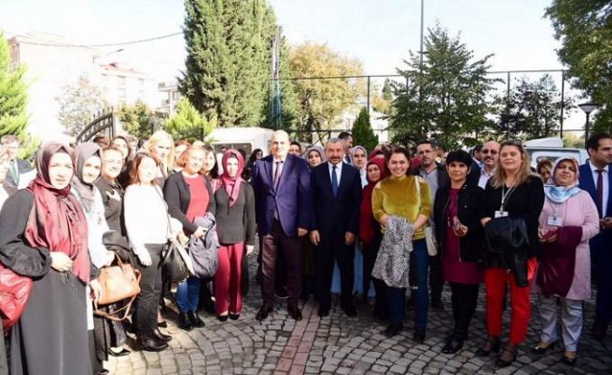 Başkan İsmail Erdem, Okul Aile Birliği Başkanları ve Yöneticileri İle Buluştu