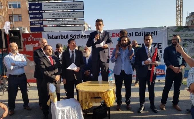 Yeniden Refah Partisi Ümraniye İlçe Teşkilatı İstanbul Sözleşmesini Kınadı