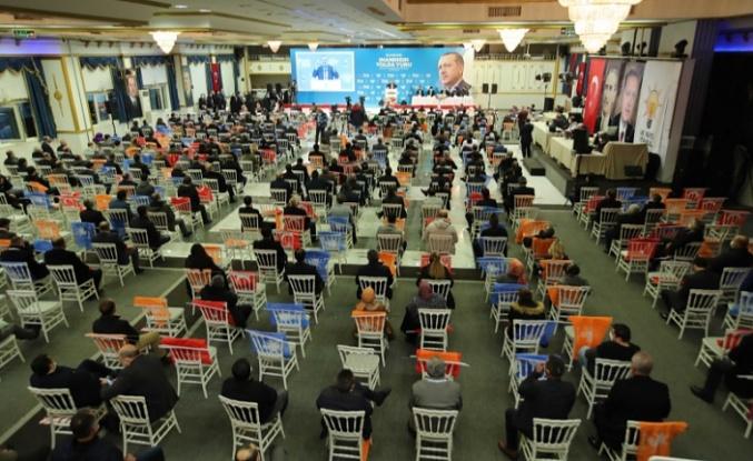 AK Parti İstanbul'da 15 ilçede başkan adaylarını açıkladı...