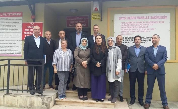 Ümraniye Belediyesi, İlçedeki Muhtarlıklarla İstişarelerine Devam Ediyor