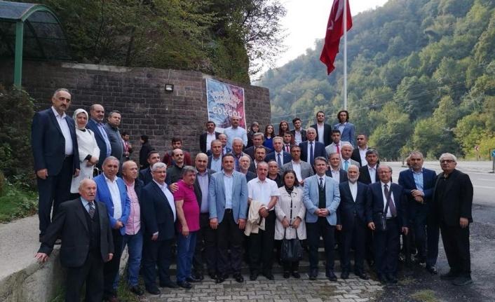 Yedi Renk Tek Yürek Platformu'ndan Zonguldak'a çıkarma