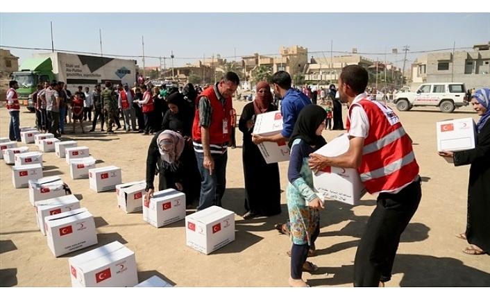 Filistin ve Gazze'ye İnsani Yardım Faaliyetleri Aralıksız Devam Ediyor