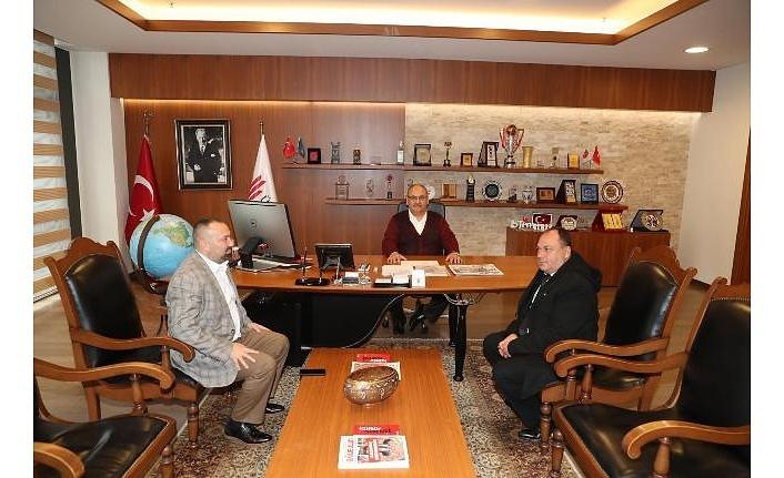 Metropol Gazetesi'nden Başkan Hasan Can'a Ziyaret