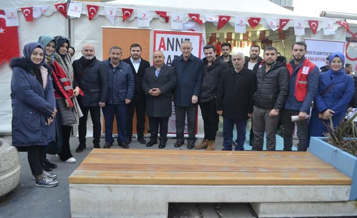 """Türk Kızılayı Genel Sekreteri Hüseyin Can """"Türk Kızılay'ı ülkemizin dünyadaki yüz akıdır"""""""