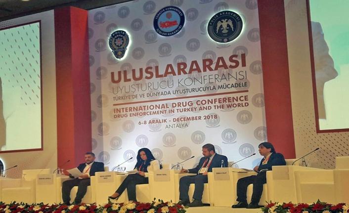 Uluslararası Uyuşturucu Konferansı Antalya'da Gerçekleştirildi