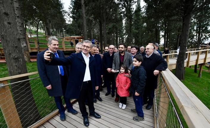 Üsküdar Belediye Başkanı Hilmi Türkmen Nakkaştepe Millet Bahçesi'nde Vatandaşlarla Buluştu