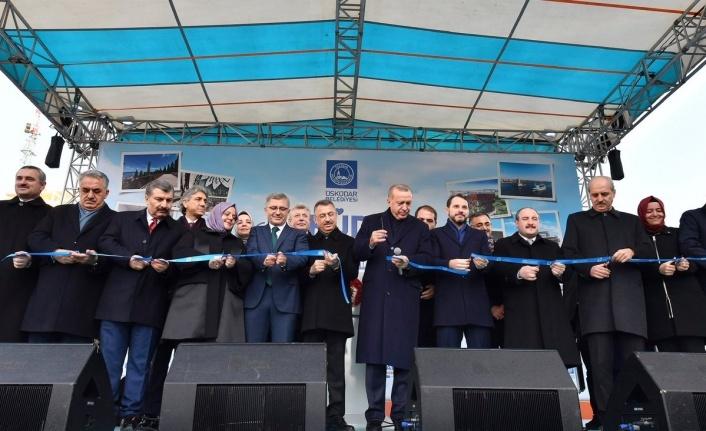 Üsküdar'da Dev Projeler Cumhurbaşkanı Recep Tayyip Erdoğan Tarafından Açıldı