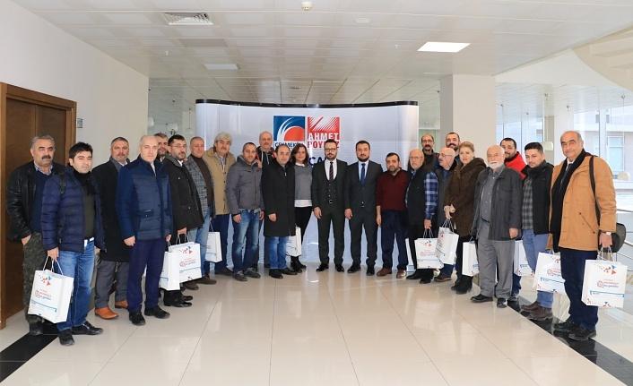 Gazeteciler Çekmeköy Belediyesi'nin Ev Sahipliğinde Buluştu