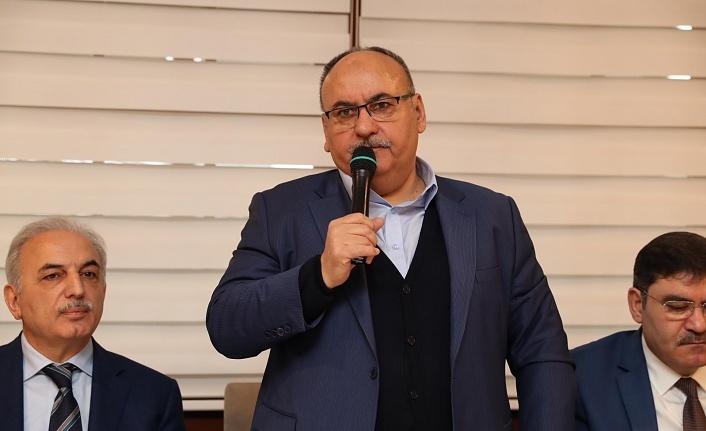 Ümraniye Belediye Başkanı Hasan Can Yerel Medya Mensuplarıyla Bir Araya Geldi