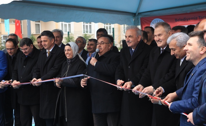 Ümraniye Belediyesi Eğitim Dünyasına Yeni Bir Eser Daha Kazandırdı