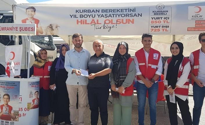 Kızılay Genel Sekreteri Hüseyin Can Ümraniye'de Kızılay Çadırını Ziyaret Etti