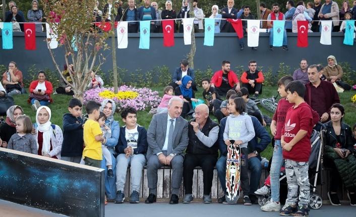 Ümraniye'de Gençler Açılışı Yapılan Kaykay Parkına İlgisi Büyük Oldu