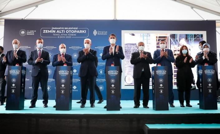 Çevre ve Şehircilik Bakanı Murat Kurum Otopark Projesinin Temelini Attı