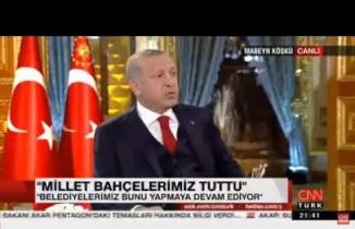 Başkan Erdoğan, Nevmekan Sahil'i Övüyor